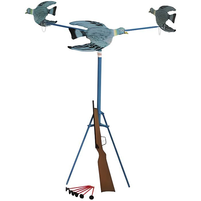 tir aux 3 pigeons mecanique achat vente pistolet bille mousse cdiscount. Black Bedroom Furniture Sets. Home Design Ideas