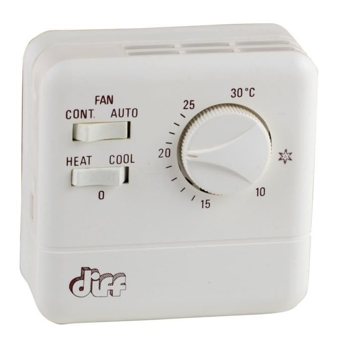 thermostat d ambiance simple type tr 11 achat vente thermostat d 39 ambiance cdiscount. Black Bedroom Furniture Sets. Home Design Ideas