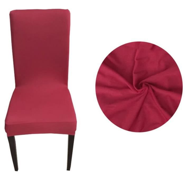 Housse de chaise chaise couverture si ge polyester for Housse de chaise occasion