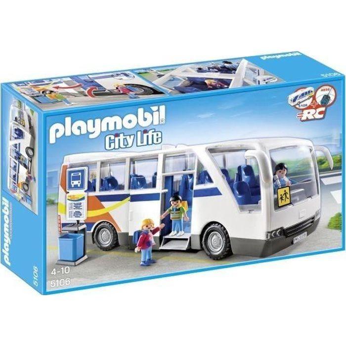 juniors jeux et jouets par type playmobil  car scolaire f pl