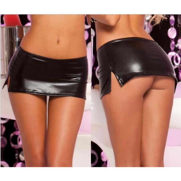 Mini jupe en jeans - Achat / Vente Mini jupe en jeans