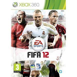 JEUX XBOX 360 FIFA 12 Jeu XBOX 360