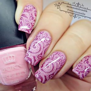 VERNIS A ONGLES 1 Flacon 6ml Born Pretty Vernis Spécial Stamping N
