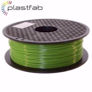 FIL POUR IMPRIMANTE 3D Plastfab - Filament 3D PLA Vert 1 kg 1.75 mm - Qua