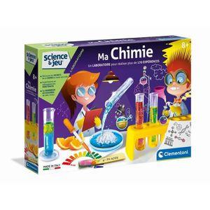 EXPÉRIENCE SCIENTIFIQUE CLEMENTONI Ma Chimie