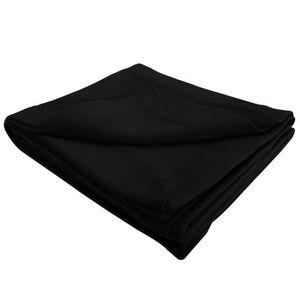 couverture polaire noir achat vente couverture polaire noir pas cher soldes cdiscount. Black Bedroom Furniture Sets. Home Design Ideas
