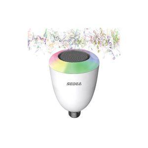 Ampoule musicale multicolore domlight enceinte nomade avis et prix pas cher les soldes sur - Ampoule enceinte bluetooth ...