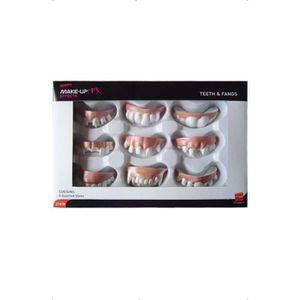 MASQUE - DÉCOR VISAGE 9 dentiers Taille Unique