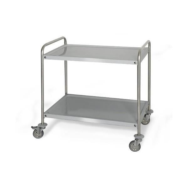 Chariot servir professionnel 100 acier inox 2 for Chariot cuisine professionnel