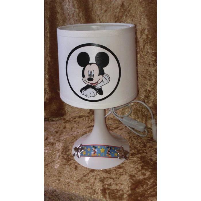Lampe De Chevet Enfant Mickey Ruban 3d Achat Vente Lampe De Chevet Enfant Mi Cdiscount