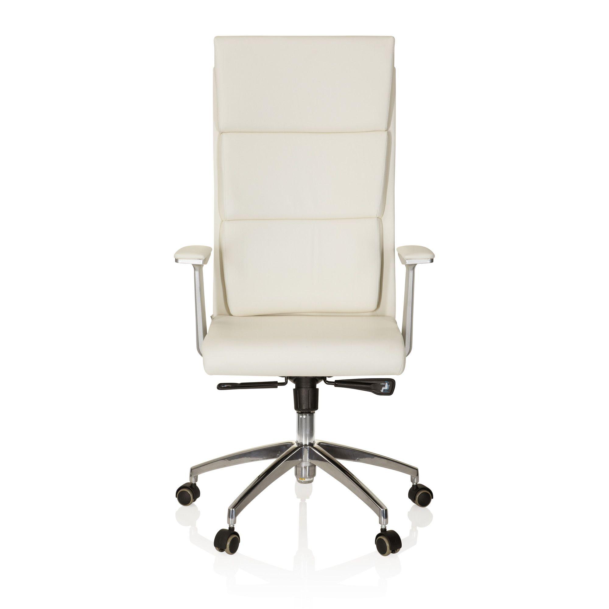 si ge de bureau fauteuil de direction monza 20 cuir ivoire achat vente chaise de bureau. Black Bedroom Furniture Sets. Home Design Ideas