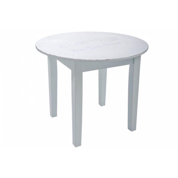 table enfant en bois bleu cigogne achat vente table. Black Bedroom Furniture Sets. Home Design Ideas