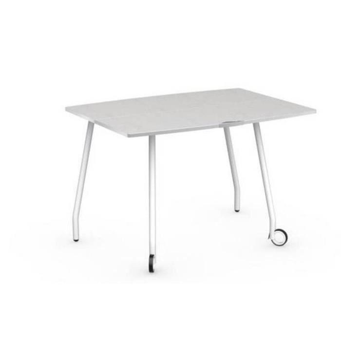 Table pliante modulable blitz book avec roulett achat vente table d 3 - Table pliante modulable ...