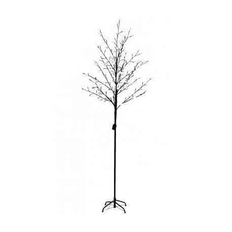 Arbre lumineux led 180 cm blanc avec t l commande achat vente sapin arbre de no l cdiscount for Tele achat projecteur noel