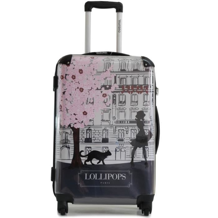valise ikase murano 50cm lollipops beige achat vente valise bagage 2009978584107 soldes. Black Bedroom Furniture Sets. Home Design Ideas