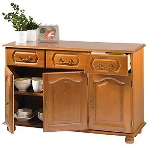 meuble bas 3 portes et 3 tiroirs achat vente meuble. Black Bedroom Furniture Sets. Home Design Ideas