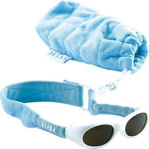 LUNETTES DE SOLEIL Lunettes bebe bandeau bleu