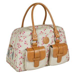 SAC À LANGER Lassig sac à langer vintage metro bag Rosebud F...