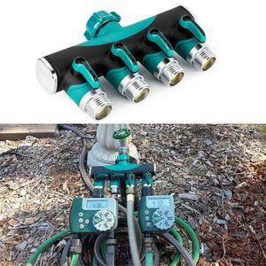 3 4 robinet r partiteur en laiton 4 voies jardin tuyau d for Robinet d arrosage jardin