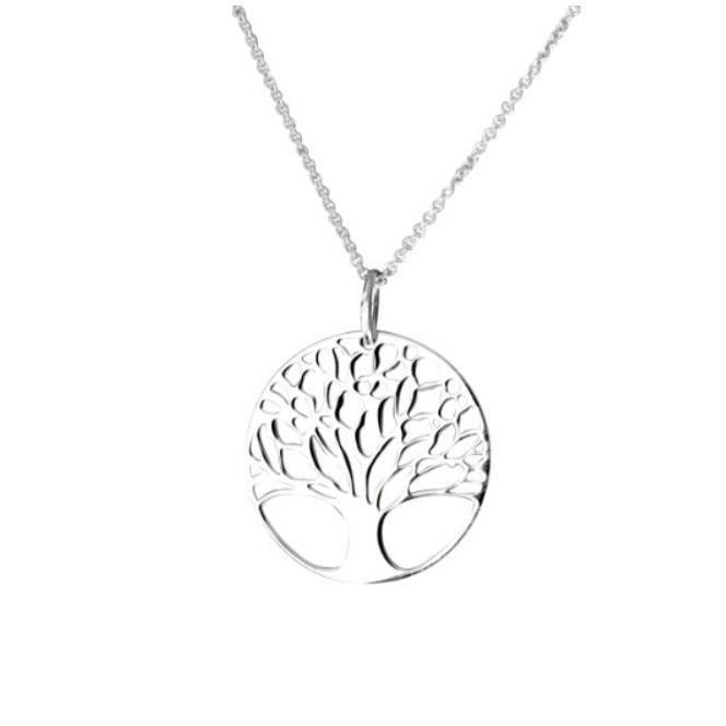 collier avec pendentif femme arbre de vie argent 925 1000 gr 43 cm achat vente. Black Bedroom Furniture Sets. Home Design Ideas
