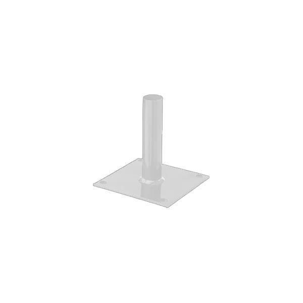 platine poteau rond blanc achat vente bordure platine poteau rond blanc cdiscount. Black Bedroom Furniture Sets. Home Design Ideas