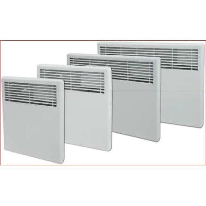 Convecteur mural m canique 1000w achat vente radiateur for Convecteur mural