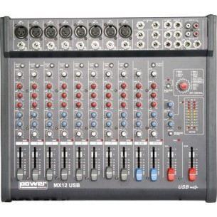 Mx 12 usb table de mixage 8 entr es micro xlr table de mixage avis et prix pas cher cdiscount - Table de mixage usb pas cher ...