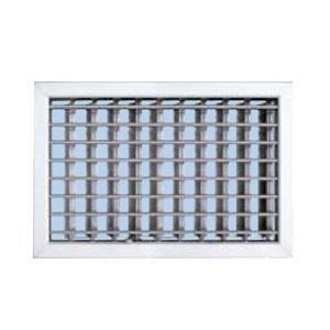 grille ventilation 220x150mm blanc ailettes sans rideau fixe achat vente vmc. Black Bedroom Furniture Sets. Home Design Ideas