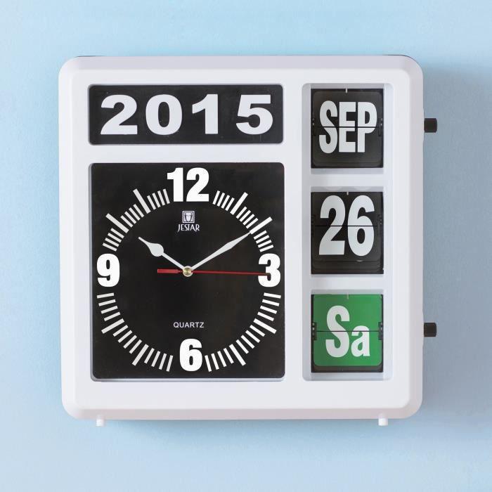 Horloge g ante perp tuelle achat vente horloge cdiscount for Horloge geante