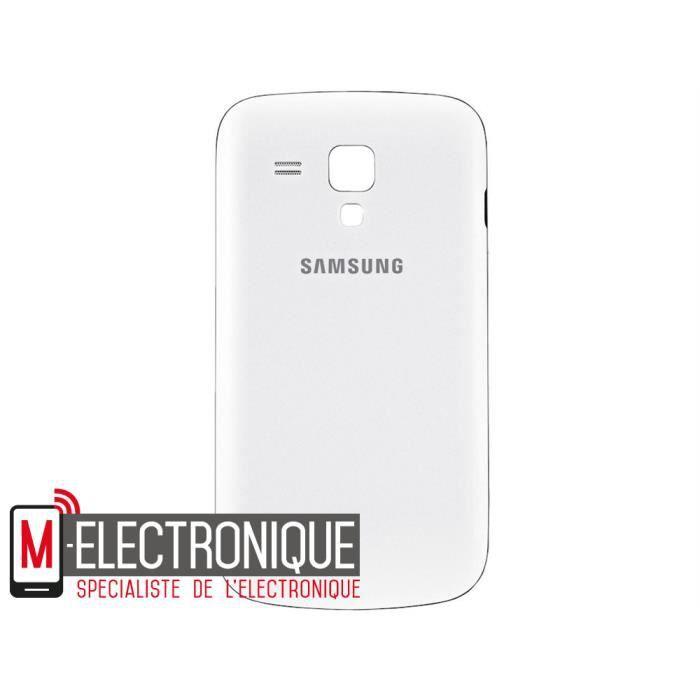 Cache batterie blanc samsung galaxy trend lite achat - Portable samsung galaxy trend lite blanc ...