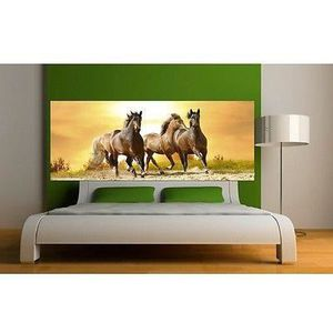 papier peint chevaux achat vente papier peint chevaux pas cher cdiscount. Black Bedroom Furniture Sets. Home Design Ideas