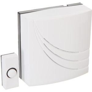 sonnette filaire achat vente sonnette filaire pas cher cdiscount. Black Bedroom Furniture Sets. Home Design Ideas