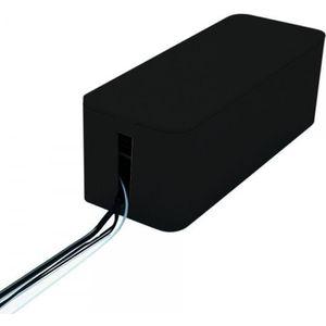 bo te cache fils lectriques noire achat vente. Black Bedroom Furniture Sets. Home Design Ideas