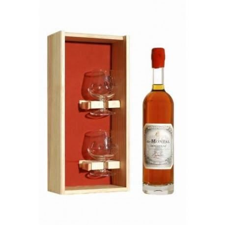 armagnac de montal 8 ans coffret 2 verres achat vente coffret cadeau alcool armagnac de. Black Bedroom Furniture Sets. Home Design Ideas