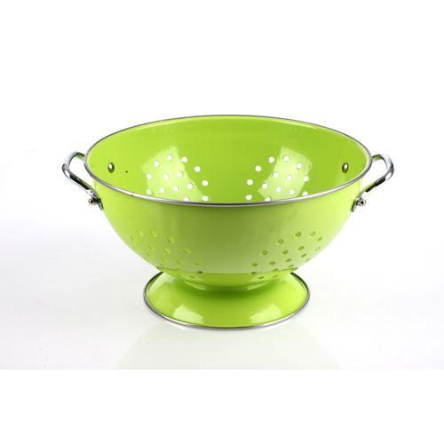 Passoire de cuisine en m tal diam 23 cm vert achat vente passoire chinois ecumoire - Achat chinois cuisine ...
