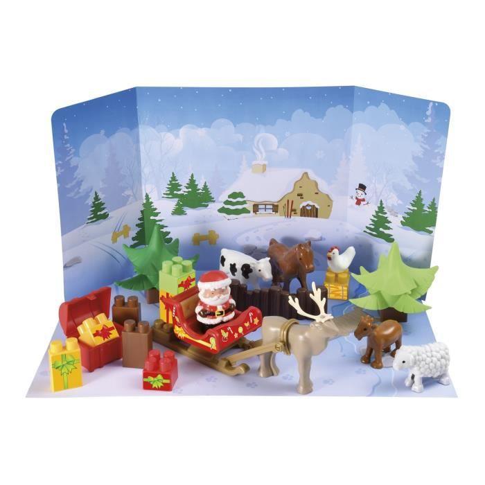 Coiffier calendrier de l 39 avent des animaux abrick achat - Calendrier de l avent pour chien ...