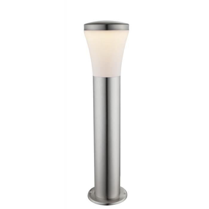 Lampe ext rieure del luminaire lampadaire acier inoxydable for Luminaire exterieur plastique