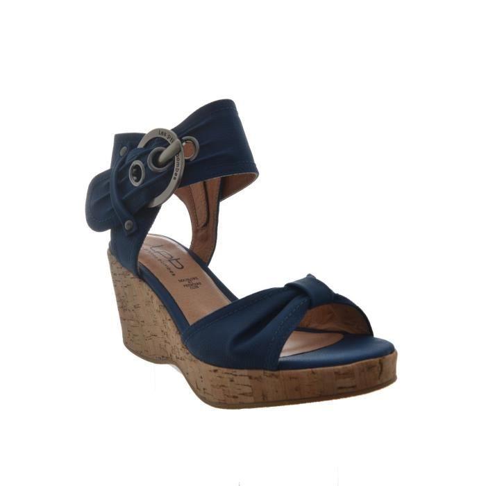 sandales nu pieds les p 39 tites bombes clemence bleu achat vente sandale nu pieds cdiscount. Black Bedroom Furniture Sets. Home Design Ideas