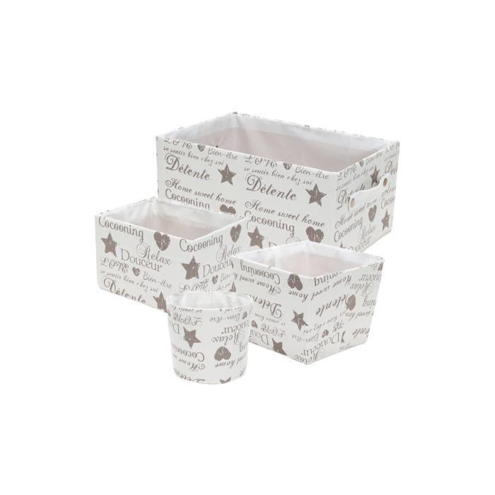4 paniers de rangement achat vente panier casier. Black Bedroom Furniture Sets. Home Design Ideas