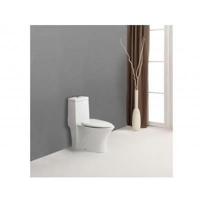 Wc pos delun avec abattant silencieux achat vente wc toilette bidet - Abattant wc silencieux ...