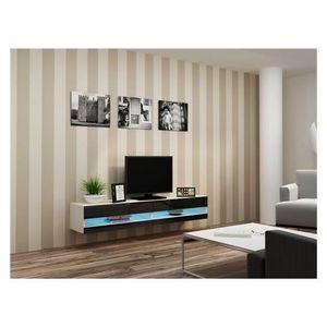 meuble tv suspendu - achat / vente meuble tv suspendu pas cher ... - Meuble Tv Design Suspendu