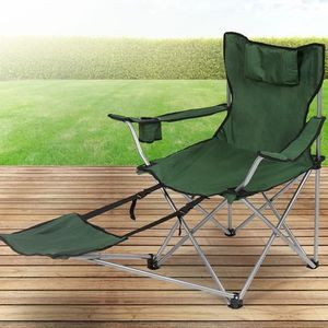 Chaise camping avec repose pieds achat vente pas cher - Chaise avec repose pied ...