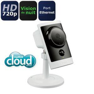 D-Link Caméra IP Extérieure HD & PoE - Connecté