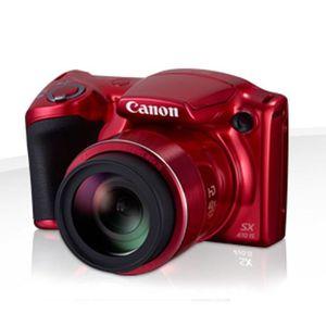 CANON POWERSHOT SX410 IS Rouge - CDD 20 mégapixels - Appareil photo numérique Bridge