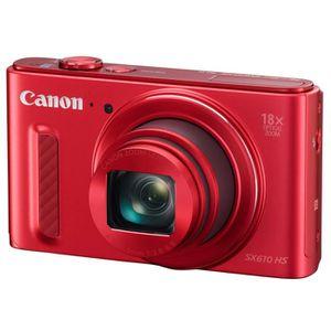 APPAREIL PHOTO COMPACT CANON POWERSHOT SX610 HS rouge - CMOS 20 Mpix Appa