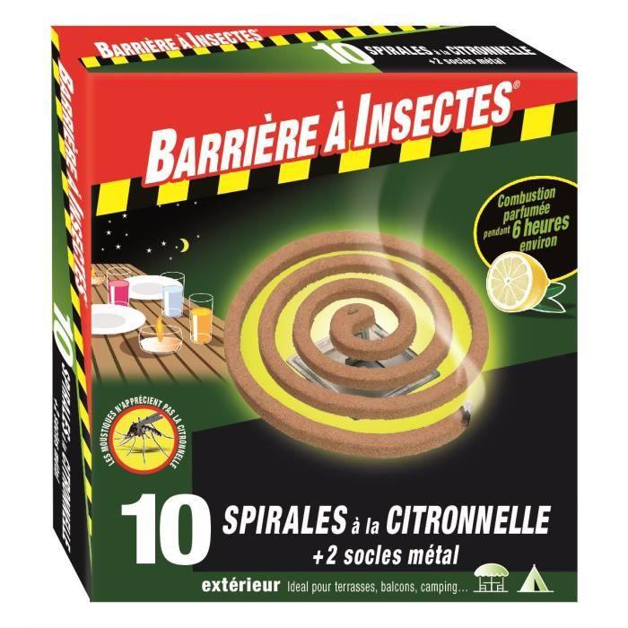 Citronnelle anti moustique maison gallery of saviezvous - Barriere aux insectes ...