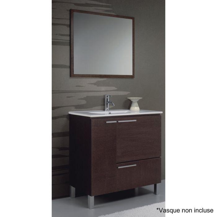 meuble vasque wenge. Black Bedroom Furniture Sets. Home Design Ideas