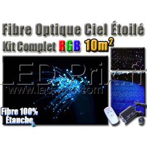 fibre optique ciel etoile achat vente fibre optique ciel etoile pas cher cdiscount. Black Bedroom Furniture Sets. Home Design Ideas