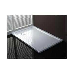 receveur de douche 100x100 achat vente receveur de douche 100x100 pas cher cdiscount. Black Bedroom Furniture Sets. Home Design Ideas