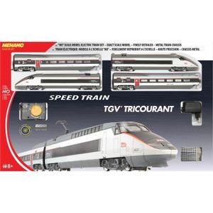 CIRCUIT MEHANO Coffret de train électrique TGV Tricourant